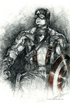 Captain America by Alice X. Zhang