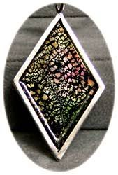 Polymer Clay Central - Linda's Faux Ammolite 1