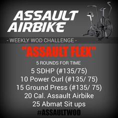Assault Bike Workout, Cycling Workout, Workout Gear, No Equipment Workout, Crossfit Baby, Crossfit Workouts At Home, Bike Workouts, Quick Workouts, Fitness Workouts