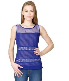 Latin Quarters Polyester Georgette Top