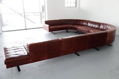 Huge Sofa and Club Chair by Jean-Marie Massaud, Made by Poltrona Frau 2