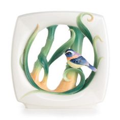 FZ02715 Franz Porcelain Peace Harmony Bamboo mid vase New | eBay