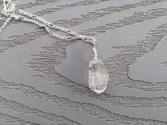 A personal favorite from my Etsy shop https://www.etsy.com/listing/221928521/moroccan-clear-quartz-crystal-wire