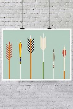 Arrows Print by Trevor Baum