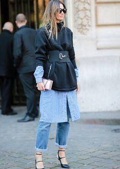 So chic! Layered Outfits | StyleCaster