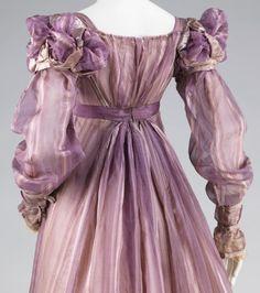 history fashion 1800-1820
