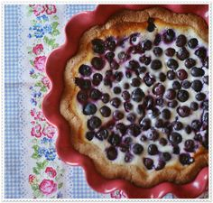 We think Mustikkapiirakka or Finnish Blueberry Pie is the perfect finn-ish to any meal.