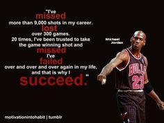 Rise above failure.