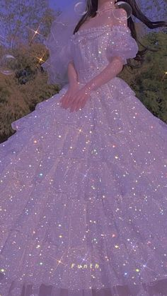 Fairytale Dress, Fairy Dress, Princess Ball Gowns, Princess Wedding Dresses, Princess Aesthetic, Aesthetic Girl, Red Quinceanera Dresses, Sparkly Gown, Fantasy Gowns