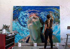 https://www.facebook.com/samanthafrenchart1  https://www.instagram.com/lindsayrapp/ great artist also (24 in Philadelphia)