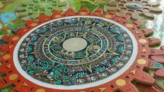 """The """"Tzolkin,"""" also called the Sacred Almanac or Sacred Round, is a sacred cyclical count calendar which consists of 260 days (called """"k'in"""") within the ancient Maya system. It is considered by most to be the region's oldest calendar count. The """"Tzolkin"""" was used to mark the dates for the ceremonies performed on the astronomical new year. In these ceremonies, the priests indicated the days when agricultural plantings and religious ceremonies were to take place within the 260 day cycle…"""