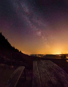 https://flic.kr/p/vpeTXL | A Million Star Menue // Eine Million Sterne Menü | Diesen fantastischen Sternenhimmel konnte ich in der hinteren Sächsischen Schweiz auf meiner Tour fotografieren.