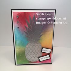 Pineapple Stamp Set