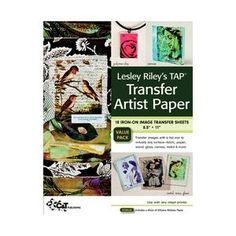 Lesley Riley's TAP Transfer Artist Paper 8.5x11 Sheet 18-Pack