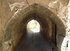 An ancient Canal in the Mosul city, Iraq.