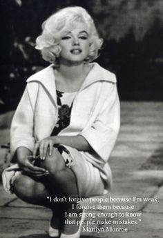 couldn't have said it better Marilyn