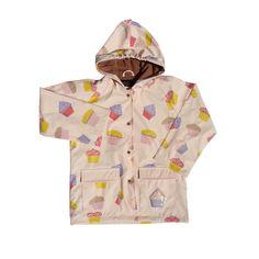 Foxfire Kids Girls Light Pink Cupcake Raincoat - of the week storage Stylish Raincoats, Pink Cupcakes, Cupcakes Design, Walking In The Rain, Ray Ban, Hooded Raincoat, Layout, Girls Boutique, School Shirts