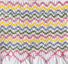 Smocking Tutorial: Two Step Wave Stitch