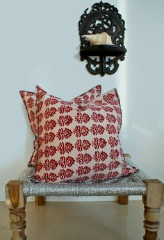 rustic accent pillows