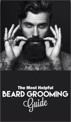 Beard grooming begins with planning your final look and the process to achieve…