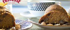 Wortel-notencake met rinse appelstroop
