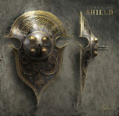 Turanian Shield - Game: Age of Conan: Unchained