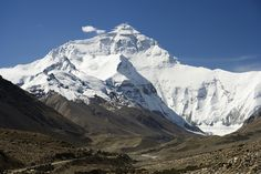 Awesome Geographical Extreme Points: Summit of Mount Everest (source: wiki)