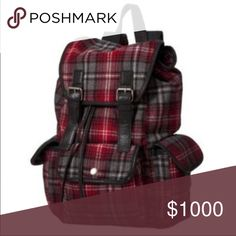 MAKE OFFER ✌️️Plaid Mossimo Supply Co Bookbag ❤️ Plaid Mossimo Supply Co Bookbag ❤️ ✌ Missing Left Front Buckle Otherwise Good Clean Condition Snap & Pull Ties Closure w/ Double sided Pockets Vegan Leather  ✌️   ❌❌ NO TRADE ❌❌ Make Me an Offer ☮ Mossimo Supply Co Bags Baby Bags