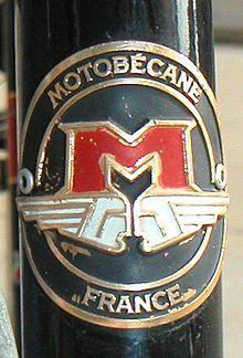 Motobécane headbadge