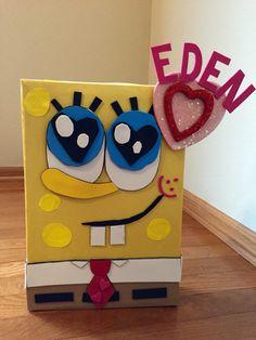 SpongeBob Valentine Box