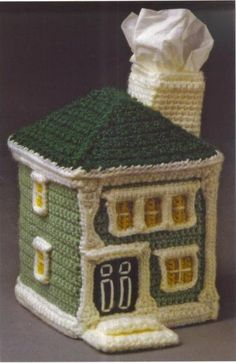 crochet house  (there are more house patterns)