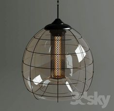 Chandelier FARADAY PENDANT by Timothy Oulton