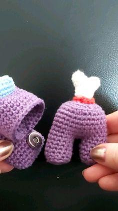 Crochet Animal Patterns, Crochet Patterns Amigurumi, Crochet Animals, Crochet Dolls, Crochet Stitches, Knitting Patterns, Kawaii Crochet, Cute Crochet, Crochet Geek