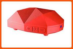 Outdoor Tech OT1800 Turtle Shell 2.0 - Rugged Water-Resistant Wireless Bluetooth Hi-Fi Speaker (Red) - Best gadgets (*Amazon Partner-Link)