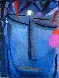 Savior's Face: Crown of Thorns, Oil On Panel by Alexej Georgewitsch Von Jawlensky (1864-1941, Russia)