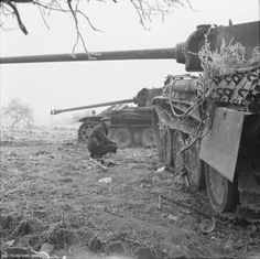 Pz V Panther Ausf. G winter morning