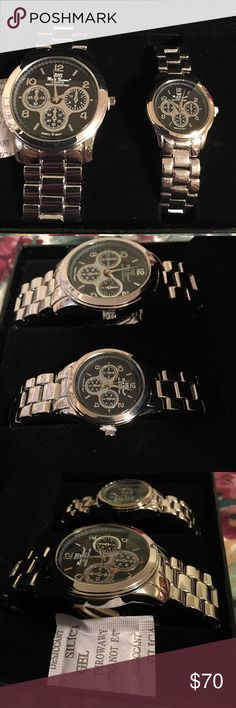 JUST IN🎉 His & Hers Mark Naimer Watches Brand New in Box! ⛔️ NO TRADES, NO PAYPAL, NO MERCARI, NO HOLDS ⛔️ smoke free, pet free home 😊 let me know if you have other questions 😊 PLEASE MAKE OFFERS THROUGH THE OFFER BUTTON.😊 Mark Naimer Accessories Watches