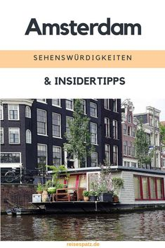 Tips for your Amsterdam trip. Here you will find next to the sights Amsterdam also some insider tips Amsterdam Trip, Amsterdam Attractions, Medan, Amsterdam Red Light District, Europe Continent, Reisen In Europa, Europe Destinations, Travel Europe, Holiday Destinations
