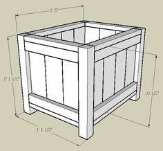 DIY Planter Box, version 3