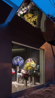 """Flower Shop Project in Shanghai - """"Part of an emerging new wave of contemporary florists, July's Flower by Alberto Caiola juxtaposes Shanghai's innate and edgy counterculture with the time-honoured traditions of horticulture and floral design."""""""
