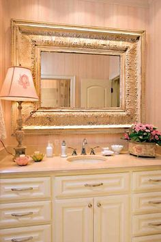 Southern Living Idea House Hot Springs, AR A Perfectly Pink Bathroom For A  Little Girl