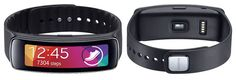 What we like and don't like about the Samsung Gear Fit Activity Tracker. Looks Can be Deceiving. Can a pretty design save it? Fitness Gadgets, Fitness Tracker, Gears, Samsung, Training, Activities, Health, Pretty, Sports