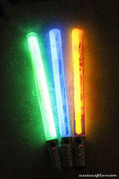 Bubble Wand Lightsabers