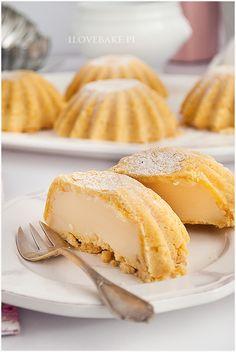 BABECZKI Z BUDYNIEM Gourmet Desserts, Cookie Desserts, Chocolate Desserts, Delicious Desserts, Polish Desserts, Polish Recipes, Sweet Recipes, Cake Recipes, Dessert Recipes