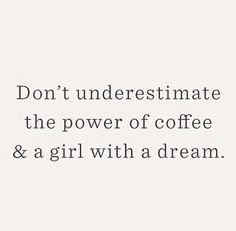 coffee + a dream @dcbarroso