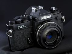 Nikon FM3A with Nikkor 45mm f/2.8. One of the best cameras ever made.