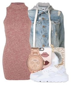 """"""" I pray the lord, you reveal what his truth is"""" by mindlesspolyvore ❤ liked on Polyvore featuring NSF, Michael Kors, Topshop, Chloé, Casetify, FOSSIL and NIKE"""