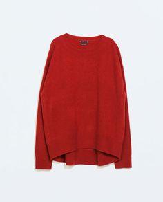 Jersey oversize cashmere de Zara