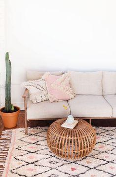 Diamond Pattern Moroccan Berber Rug | Loom & Field on Etsy