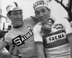 Giro di Sardegna 1968. Gimondi and Merckx. The great and 'The Greatest'.